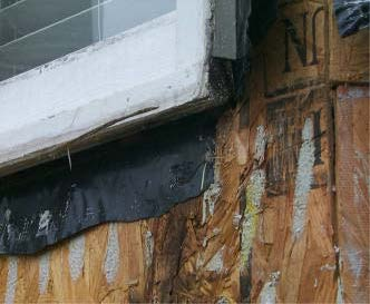 window wood rot and damage Atlanta