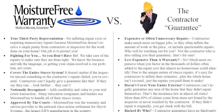 Atlanta Stucco Bond or Warranty vs Atlanta Contractor Warranty